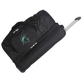 Michigan State Spartans 27-Inch Wheeled Drop-Bottom Duffle Bag