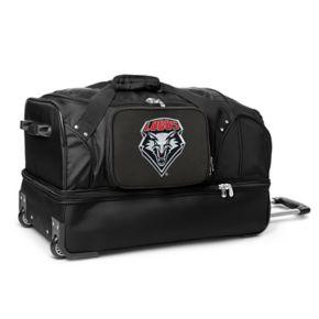 New Mexico Lobos 27-Inch Wheeled Drop-Bottom Duffle Bag