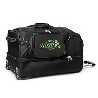 North Dakota State Bison 27-Inch Wheeled Drop-Bottom Duffle Bag