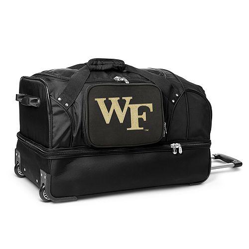 Wake Forest Demon Deacons 27-Inch Wheeled Drop-Bottom Duffle Bag