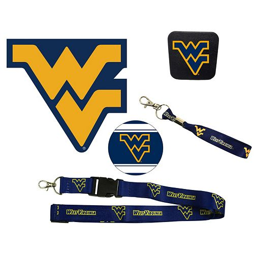 West Virginia Mountaineers Auto Pack