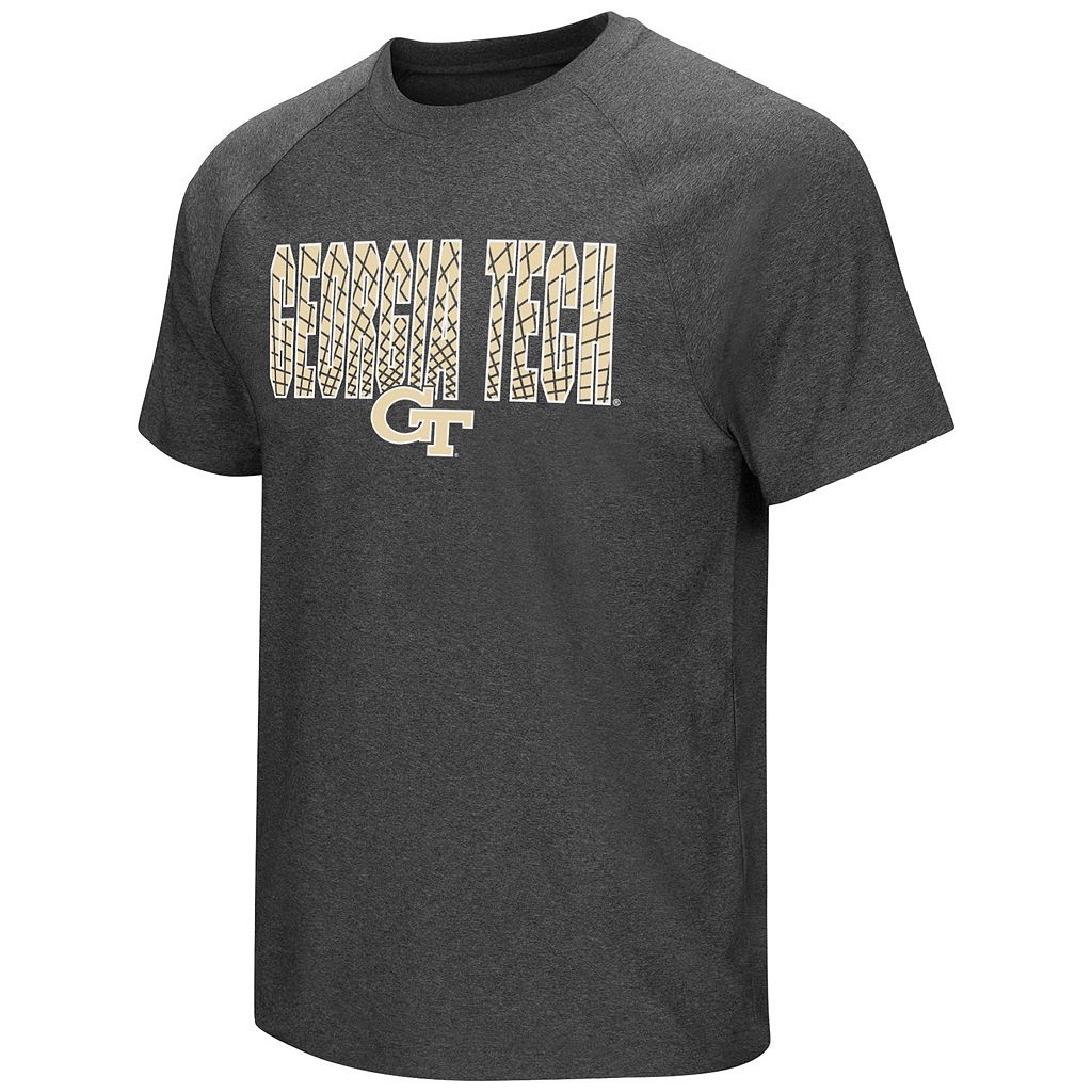 Men's Campus Heritage Georgia Tech Yellow Jackets Castle Raglan Tee