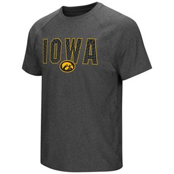 Men's Campus Heritage Iowa Hawkeyes Castle Raglan Tee