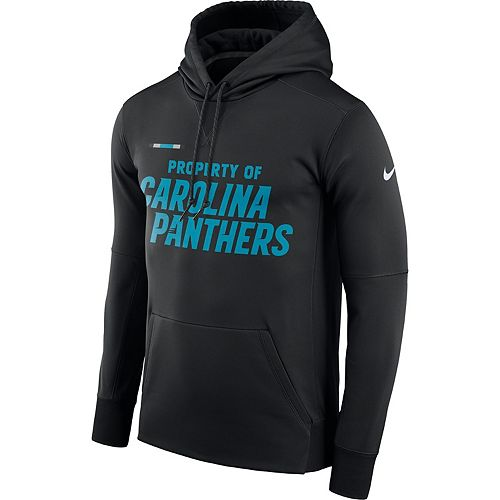 Men's Nike Carolina Panthers Property Of Therma Hoodie