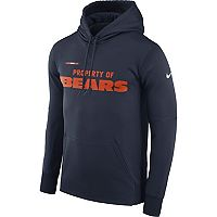 Men's Nike Chicago Bears Property Of Therma Hoodie