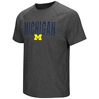 Men's Campus Heritage Michigan Wolverines Castle Raglan Tee