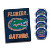 Florida Gators Wall Art & Coaster Set