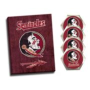 Florida State Seminoles Wall Art & Coaster Set