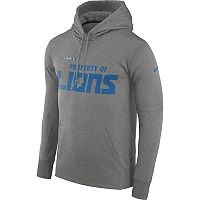 Men's Nike Detroit Lions Property Of Therma Hoodie