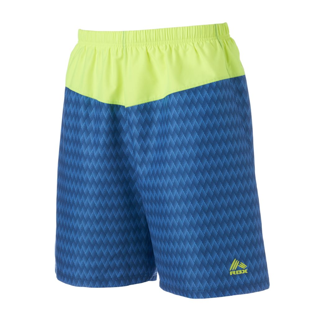 Men's RBX Gym 'n Swim Colorblock Swim Trunks