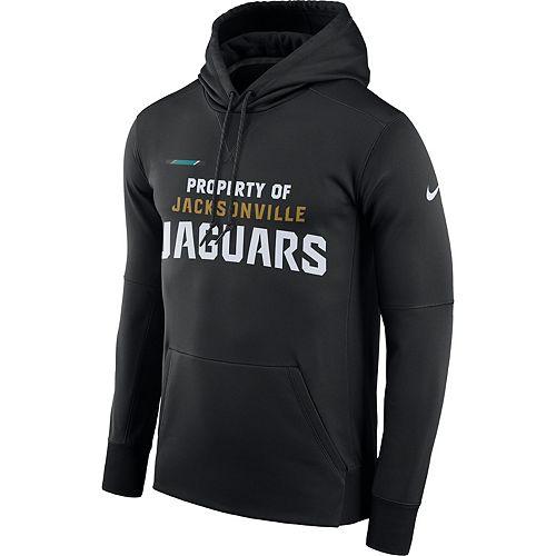 Men's Nike Jacksonville Jaguars Property Of Therma Hoodie