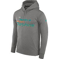 Men's Nike Miami Dolphins Property Of Therma Hoodie