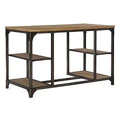 Benjamin Rustic Industrial Desk