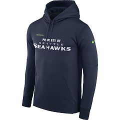 Men's Nike Seattle Seahawks Property Of Therma Hoodie