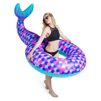 Big Mouth Inc. 74-inch Giant Mermaid Tail Pool Float
