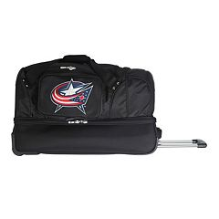 Columbus Blue Jackets 27-Inch Wheeled Drop-Bottom Duffle Bag