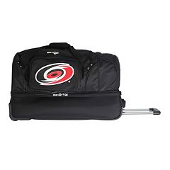 Carolina Hurricanes 27-Inch Wheeled Drop-Bottom Duffle Bag