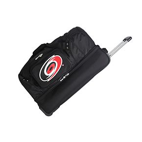 Carolina Hurricanes 27-Inch Wheeled Drop-Bottom Duffle Bag