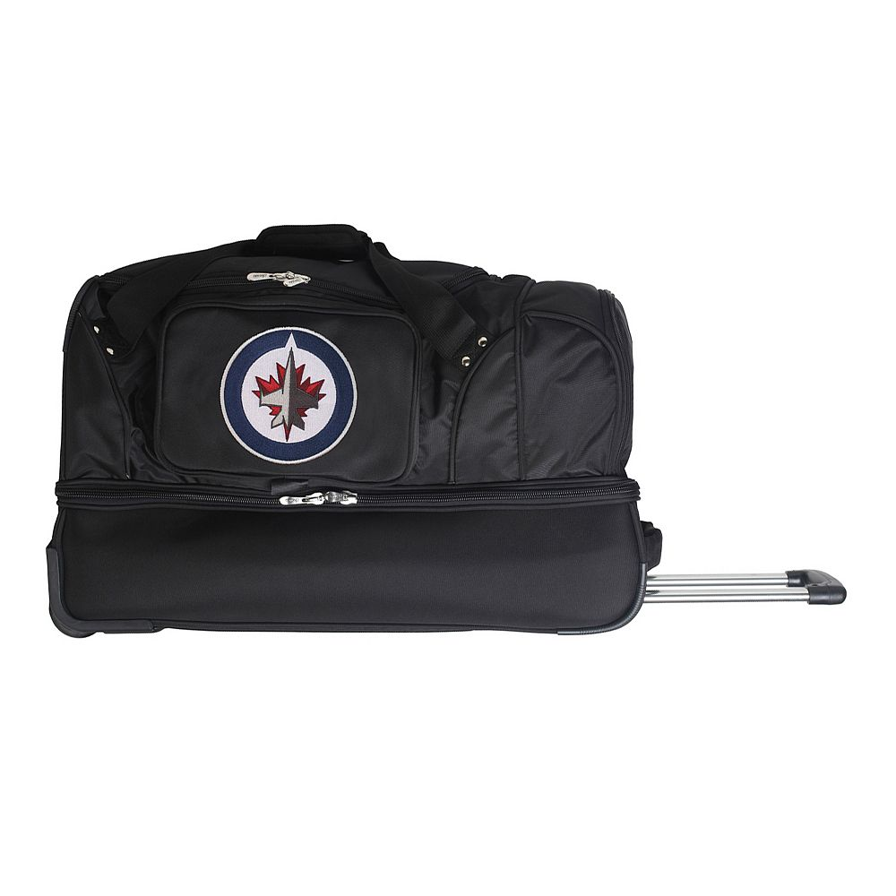 Winnipeg Jets 27-Inch Wheeled Drop-Bottom Duffle Bag