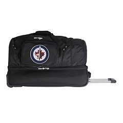 Winnipeg Jets 27-Inch Wheeled Drop-Bottom Duffle Bag