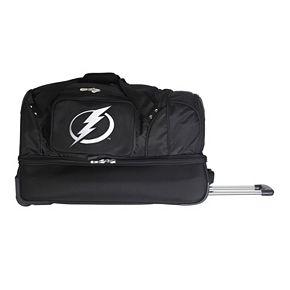 Tampa Bay Lightning 27-Inch Wheeled Drop-Bottom Duffle Bag