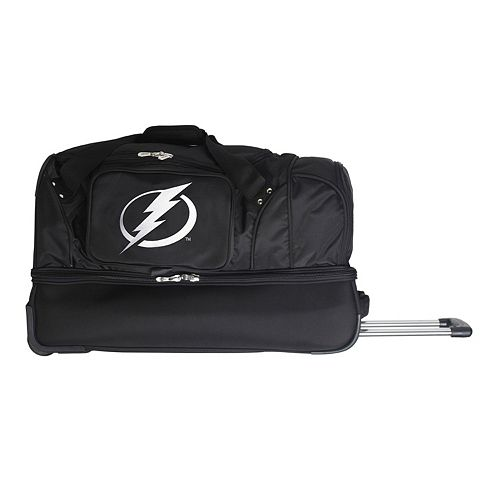 Tampa Bay Lightning 27-Inch Wheeled Drop-Bottom Duffle Bag