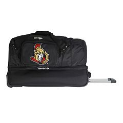 Ottawa Senators 27-Inch Wheeled Drop-Bottom Duffle Bag