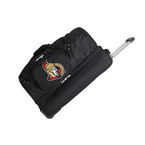 Ottawa Senators 27-Inch Wheeled Drop-Bottom Duffle Bag
