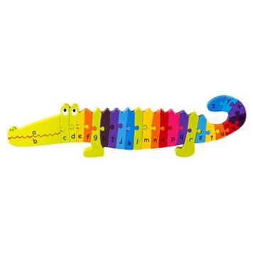 Orange Tree Toys Wooden Alphabet Crocodile Puzzle