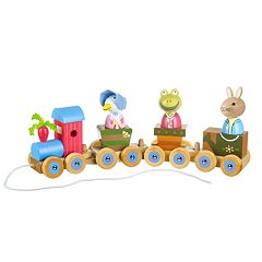 Peter Rabbit Wooden Puzzle Train by Orange Tree Toys  by