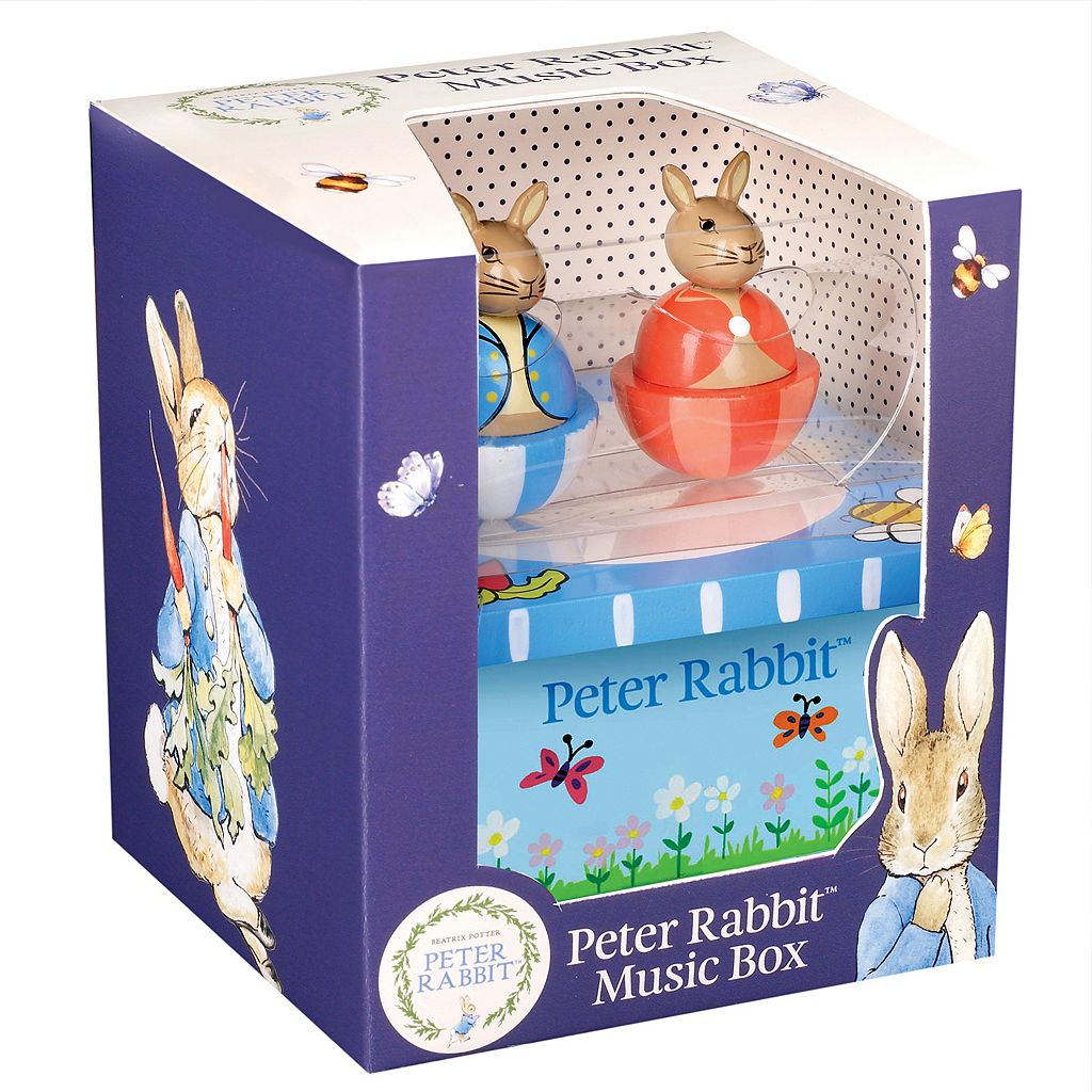 Peter Rabbit Wooden Music Box by Orange Tree Toys