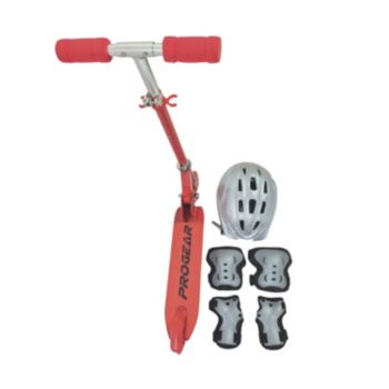 Progear Scooter, Helmet & Protective Gear Set