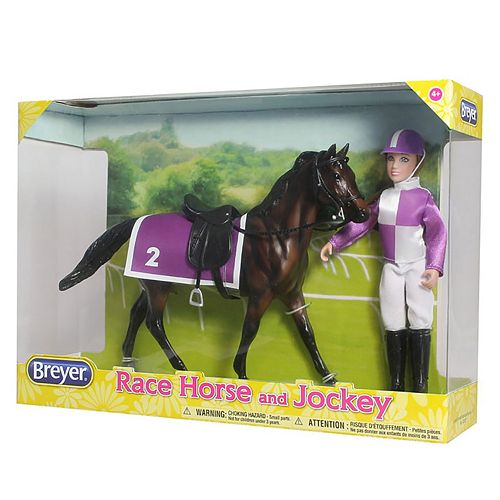 Breyer Classics Race Horse & Jockey Set