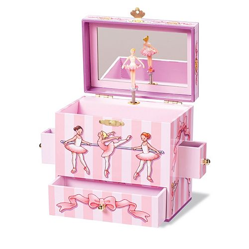 Enchantmints Ballet Class Musical Jewelry Box