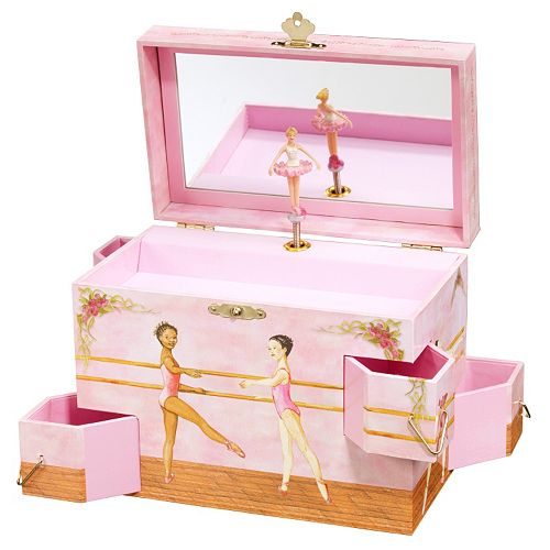 Enchantmints Ballet School Musical Jewelry Box