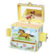 Enchantmints Wild & Free Horse Musical Jewelry Box