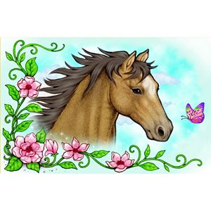 Enchantmints Wild & Free Horse Musical Jewelry Box