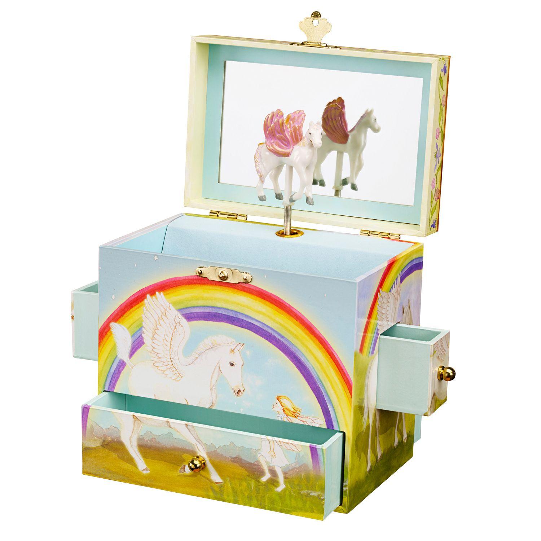 Pegasus Musical Jewelry Box