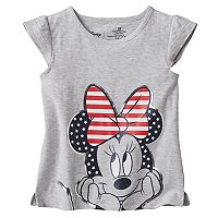 Disney's Minnie Mouse Toddler Girl Patriotic Graphic Tee by Jumping Beans®