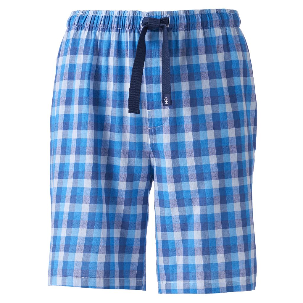 Men's IZOD Plaid Woven Sleep Shorts