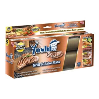 As Seen on TV Yoshi Copper Grill & Bake Mats