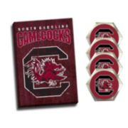 South Carolina Gamecocks Wall Art & Coaster Set