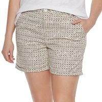 Plus Size SONOMA Goods for Life™ Color Chino Shorts