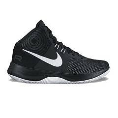 Nike Air Precision Men's Basketball Shoes. White Black ...