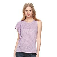 Women's Apt. 9® Striped One-Shoulder Top