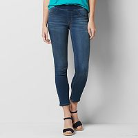 Women's SONOMA Goods for Life™ Super Stretch Pull-On Skinny Jeans