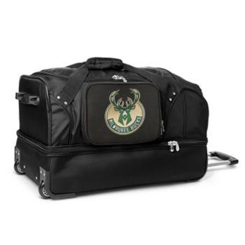 Milwaukee Bucks 27-Inch Wheeled Drop-Bottom Duffle Bag