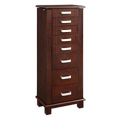 Champion 8-Drawer Jewelry Armoire