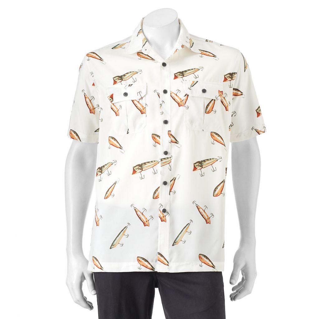 Men's Croft & Barrow® Classic-Fit Performance Button-Down Shirt