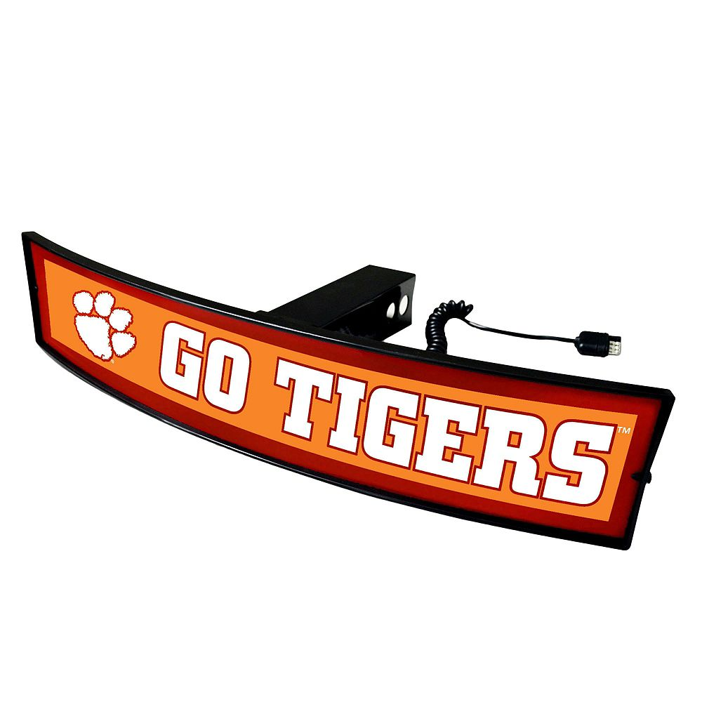 FANMATS Clemson Tigers Light Up Trailer Hitch Cover
